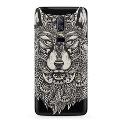 Fox illustration design  Oneplus 6(Six) hard plastic all side printed back cover.