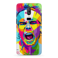 Graphic art Portrait of Nadal/ Go do it now design Oneplus 6(Six) hard plastic all side printed back cover.
