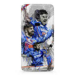 Virat Kohli in his various avatars  design/Indian Cricket legend design   Oneplus 6(Six) hard plastic all side printed back cover.