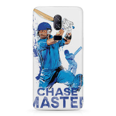 The Indian Chase Master, Kohli design Oneplus 6(Six) hard plastic all side printed back cover.