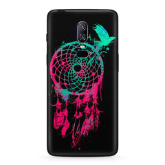 Good luck Pigeon sketch design Oneplus 6 all side printed hard back cover by Motivate box Oneplus 6 hard plastic printed back cover.