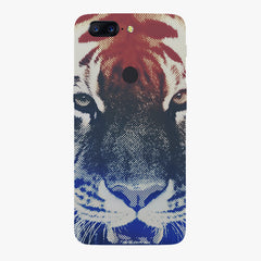Pixel Tiger Design Oneplus 5T hard plastic all side printed back cover.