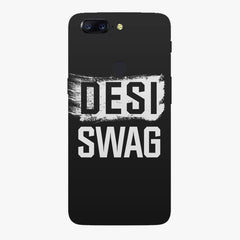 Desi Swag Oneplus 5T hard plastic all side printed back cover.
