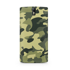 Army Design Oneplus One printed back cover