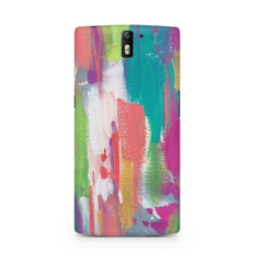 Abstract Painting Oneplus One printed back cover