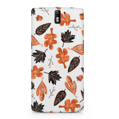 Autumn Leaves Oneplus One printed back cover