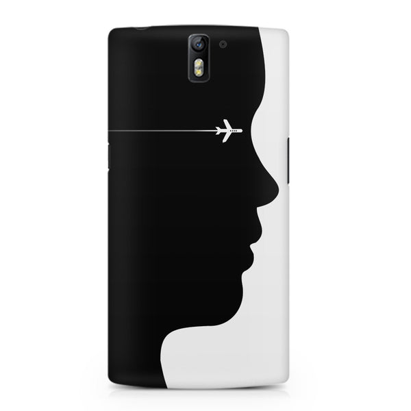 A vision to fly Oneplus One printed back cover