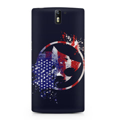 American Wolf design    OnePlus One hard plastic printed back cover