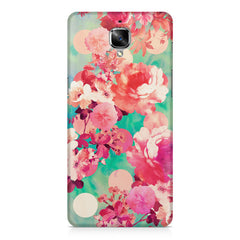 Floral Design Abstract Oil Painting OnePlus 3/3T printed back cover