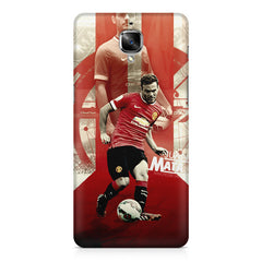Machester United Mata Football OnePlus 3/3T printed back cover