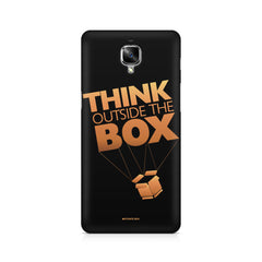 Think Outside The Box- Entrepreneur Lines Quotes OnePlus 3/3T printed back cover