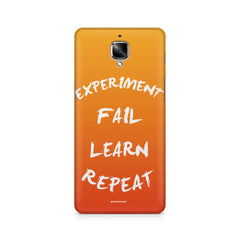 Experiment Fail Learn Repeat-Entrepreneur Quotes OnePlus 3/3T printed back cover