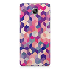 3D Colorful shapes OnePlus 3/3T printed back cover