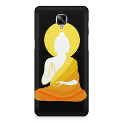 Buddha sketch design OnePlus 3/3T printed back cover