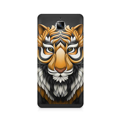 Colorful Tiger Tattoo Design OnePlus 3/3T printed back cover