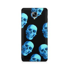 Skeleton Head Pattern Design OnePlus 3/3T printed back cover
