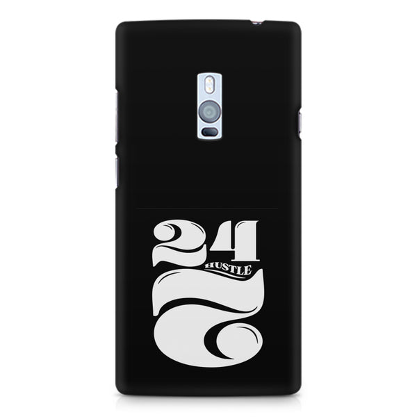 Always hustle design OnePlus Two printed back cover