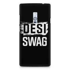 Desi Swag OnePlus Two hard plastic printed back cover