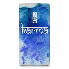 Karma OnePlus Two hard plastic printed back cover