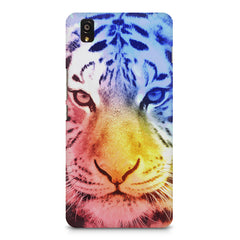 Colourful Tiger Design OnePlus X hard plastic printed back cover