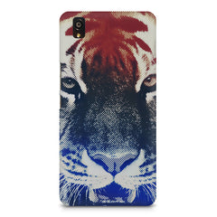 Pixel Tiger Design OnePlus X hard plastic printed back cover
