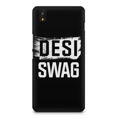 Desi Swag OnePlus X hard plastic printed back cover