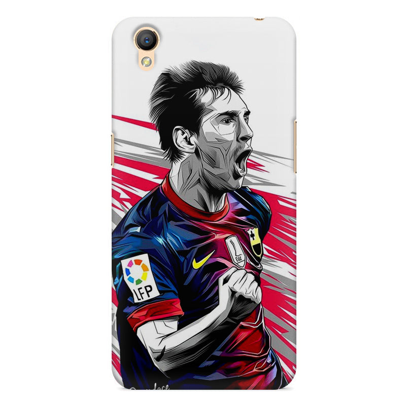 sneakers for cheap 24c4d 7b9fe Messi illustration design, Oppo A37 printed back cover