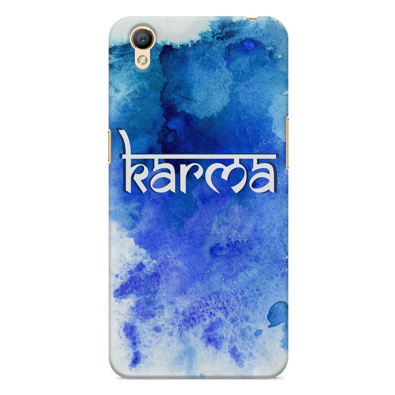 low priced af23c cf0a1 Karma Oppo A37 hard plastic printed back cover