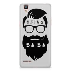 Being BaBa Design Oppo R9 hard plastic printed back cover