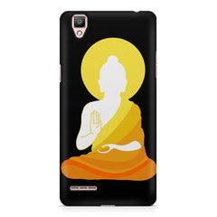 Buddha abstract painting    Oppo R9 hard plastic printed back cover