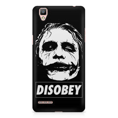Joker disobey design    Oppo R9 hard plastic printed back cover