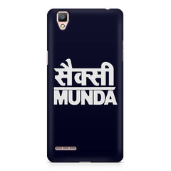 Sexy Munda quote design    Oppo R9 hard plastic printed back cover