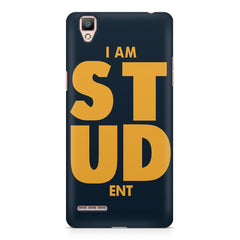 "I am ""STUD"" ENT quote design    Oppo R9 hard plastic printed back cover"
