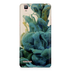 Coloured smoke design    Oppo R9 hard plastic printed back cover