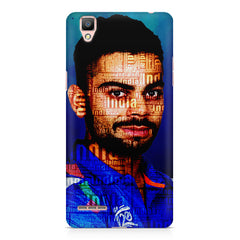 Virat Kohli India inscribed design    Oppo R9 hard plastic printed back cover