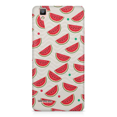 Water melon pattern design    Oppo R9 hard plastic printed back cover