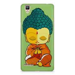 Miniature Buddha Caricature Oppo R9 hard plastic printed back cover