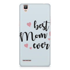 Best Mom Ever Design Oppo F1 hard plastic printed back cover