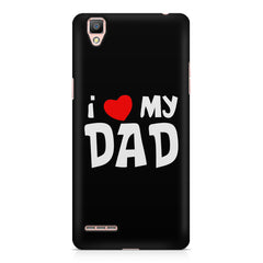 I <3 my Dad Design Oppo A35 hard plastic printed back cover