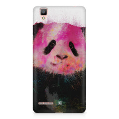 Polar Bear portrait design Oppo R7 hard plastic printed back cover