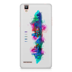 Incredible India Design Oppo F1 hard plastic printed back cover