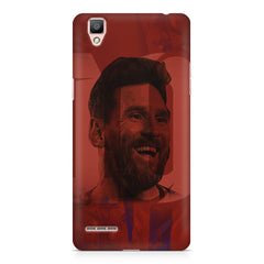 Messi jersey 10 blended design Oppo F1 hard plastic printed back cover