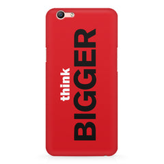 Think Bigger- For Entrepreneurs design,  Oppo A57  printed back cover