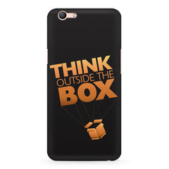 Think Outside The Box- Entrepreneur Lines design,  Oppo A57  printed back cover