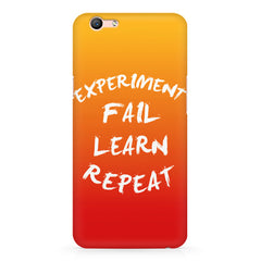Experiment Fail Learn Repeat - Entrepreneur Quotes design,  Oppo A57  printed back cover