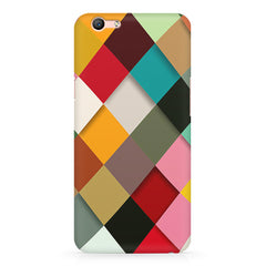Graphic Design diamonds   Oppo A57  printed back cover