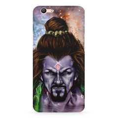 Shiva Anger  Oppo R11 Plus  printed back cover