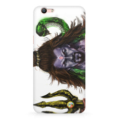 Shiva With Trishul  Oppo A57  printed back cover
