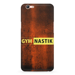 Gym nastik  design,  Oppo F3 Plus  printed back cover