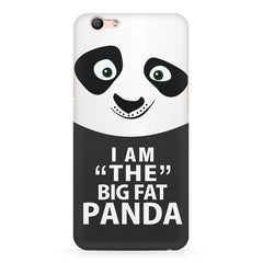 I am the big fat Panda  design,  Oppo F3 Plus  printed back cover